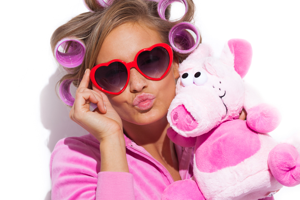 Fotograf David Kebo Cornelia Styf My Little Piggy Pink Pig