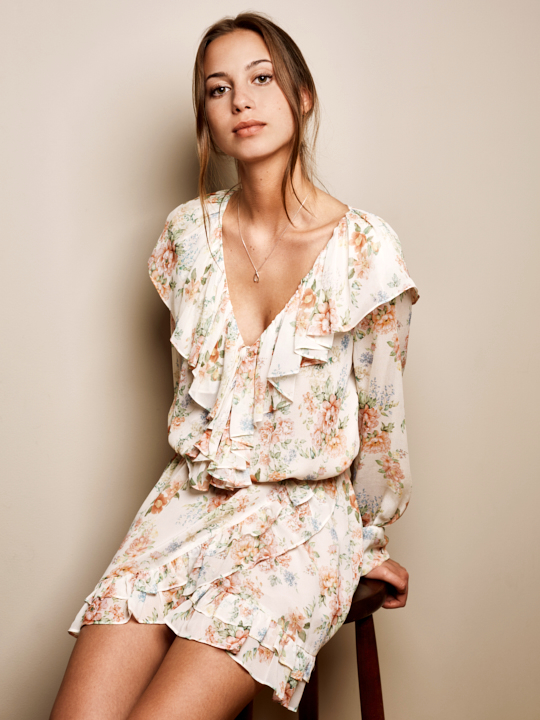 Spanish Vibes Flower Dress